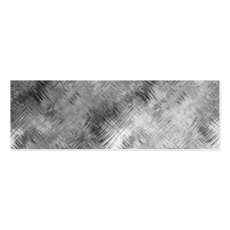 Hematite Grey Scribbled Texture Pack Of Skinny Business Cards