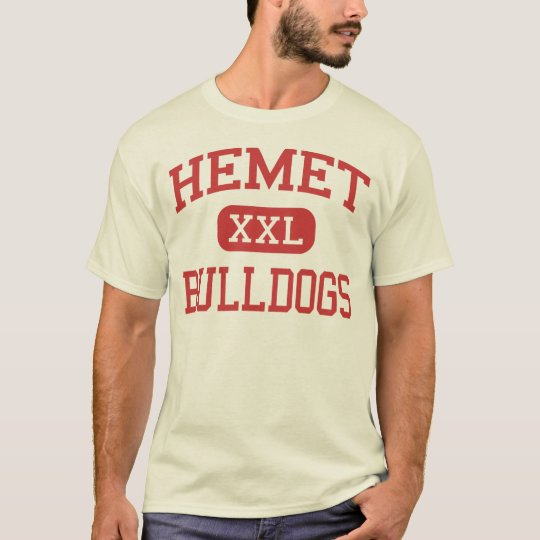 Hemet - Bulldogs - High School - Hemet California T-Shirt