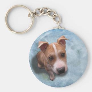 Hemi the Pit Bull Puppy Key Chains