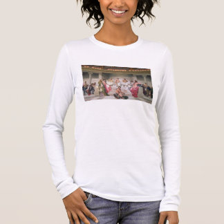Hemicycle: Artists of All Ages, detail of Ictinus, Long Sleeve T-Shirt