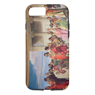 Hemicycle: Artists of All Ages, detail of left han iPhone 8/7 Case