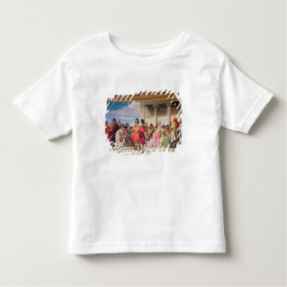 Hemicycle: Artists of All Ages, detail of left han Toddler T-Shirt