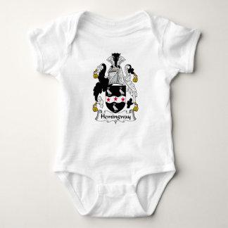 Hemingway Family Crest Baby Bodysuit