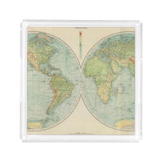 Hemispheres 12 physical acrylic tray