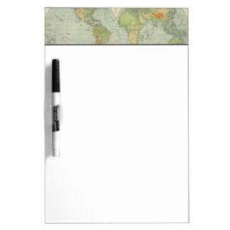 Hemispheres 12 physical dry erase board