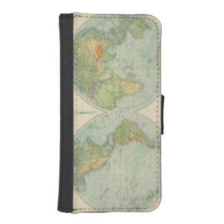 Hemispheres 12 physical iPhone SE/5/5s wallet case