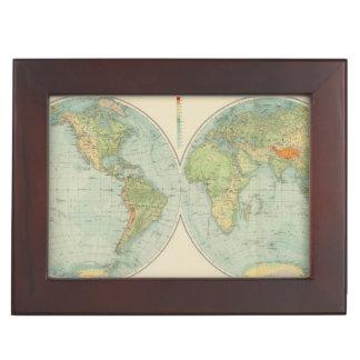 Hemispheres 12 physical keepsake box