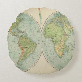 Hemispheres 12 physical round cushion