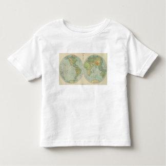 Hemispheres 12 physical toddler T-Shirt
