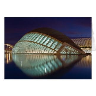 Hemispheric in Valencia Spain Greeting Cards