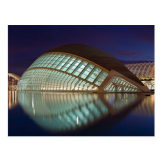 Hemispheric in Valencia Spain Postcard