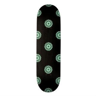 Hemlock Flower Pattern 4 Custom Skateboard