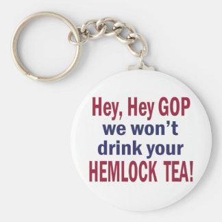 Hemlock Tea Keychains