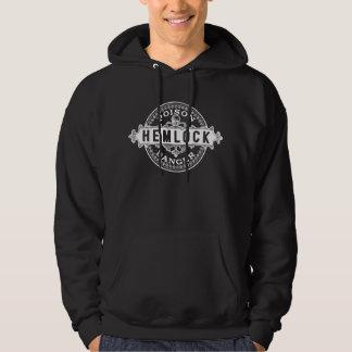 Hemlock Vintage Style Poison Label Hoodie