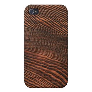 Hemlock wood grain iPhone 4 case