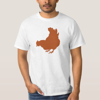 Hen [chicken, farmer, organic eggs] tee shirt