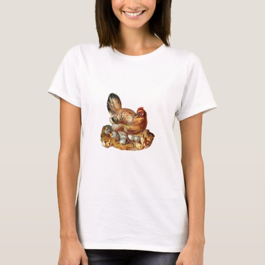 Hen Chicks Babies and Eggs T-Shirt