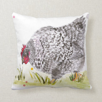 "Hen cushion ""Mary Hen"""