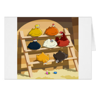 Hen House Greeting Cards