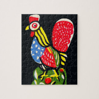 Hen Jigsaw Puzzle with Gift Box