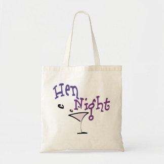 Hen Night Budget Tote Bag