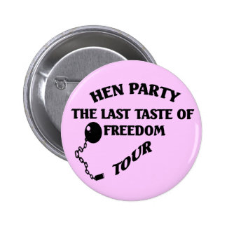 Hen Party 6 Cm Round Badge