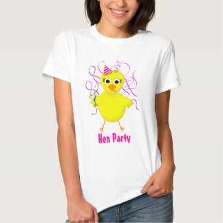 Hen Party - Bride - Funny Wedding Chick Shirt