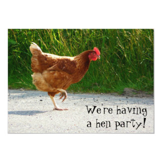 Hen Party! Invite for bachelorette celebration