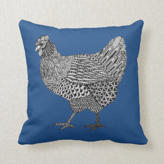 hen pillow