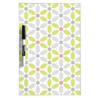 Henagon Star Lime Green Dry Erase Board