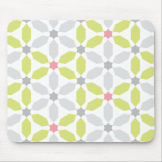 Henagon Star Lime Green Mouse Pad