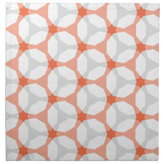 Henagon Star Orange Mesh Napkin