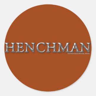 Henchman Classic Round Sticker