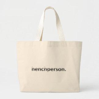 Henchperson Jumbo Tote Bag