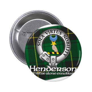 Henderson Clan 6 Cm Round Badge