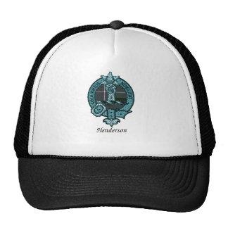Henderson Clan Crest Trucker Hats