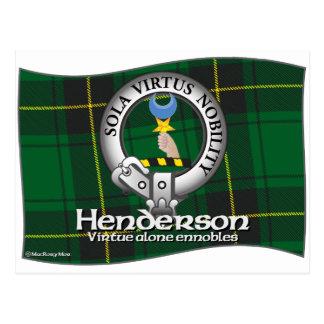 Henderson Clan Postcard