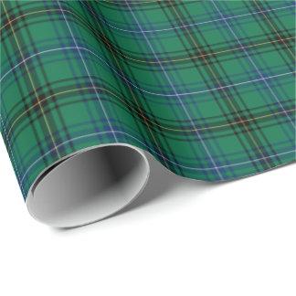 Henderson Clan Tartan Wrapping Paper