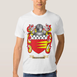 Henderson Coat of Arms (Family Crest) T-shirts