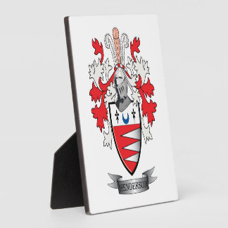 Henderson Family Crest Coat of Arms Plaque