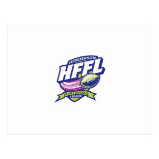 Henderson Flag Football League Postcard