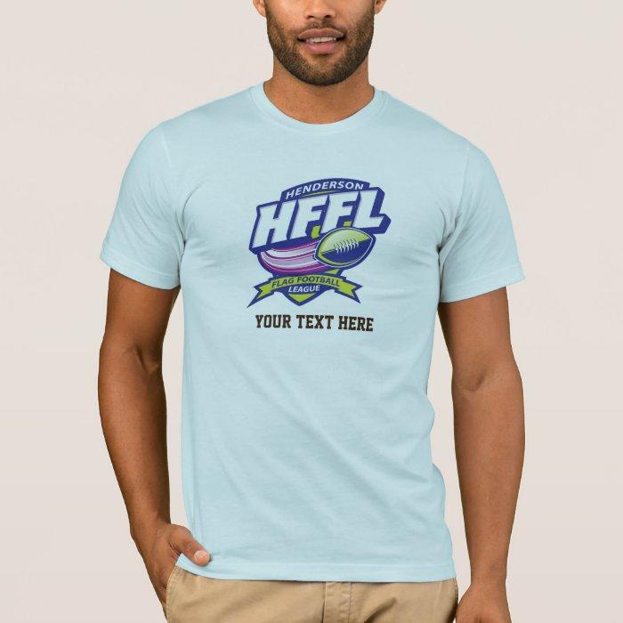 Henderson Flag Football League T-Shirt