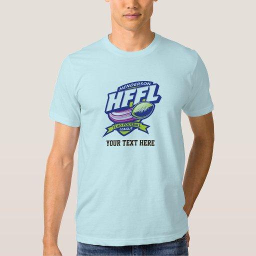 Henderson Flag Football League T Shirts