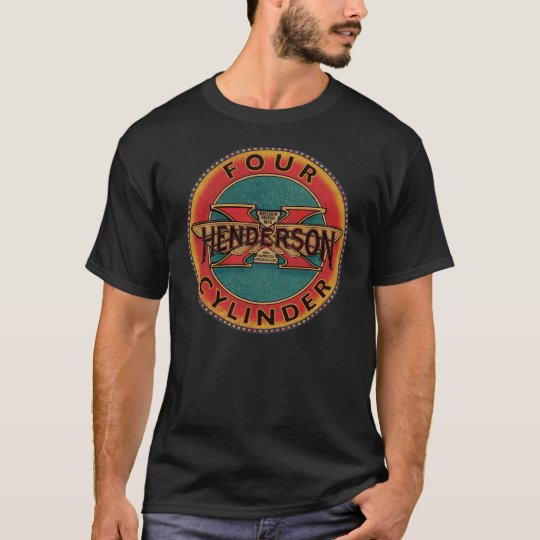 Henderson four cylinder motorcycle sign T-Shirt