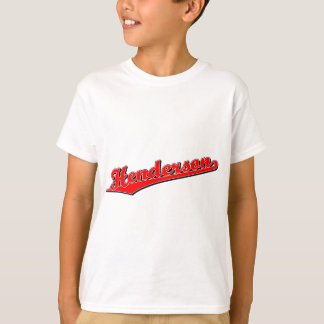 Henderson in Red T-Shirt