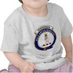 Henderson (MacKendrick) Clan Badge T-shirt