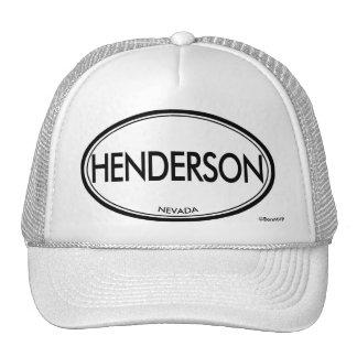Henderson, Nevada Cap