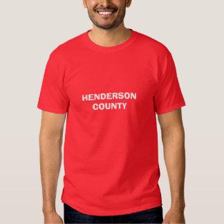 HENDERSON                                      ... T-SHIRTS