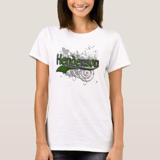 Henderson Tartan Grunge T-Shirt