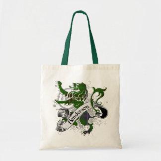 Henderson Tartan Lion Budget Tote Bag